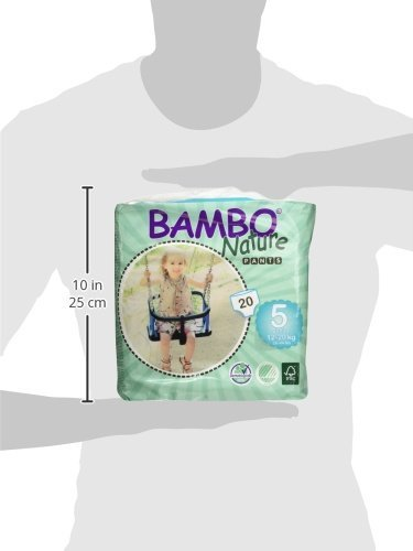 WC-Training Pull Up-Hose 12/–20 kg 20 St/ück pro Packung Bambo Nature Junior Gr/ö/ße 5