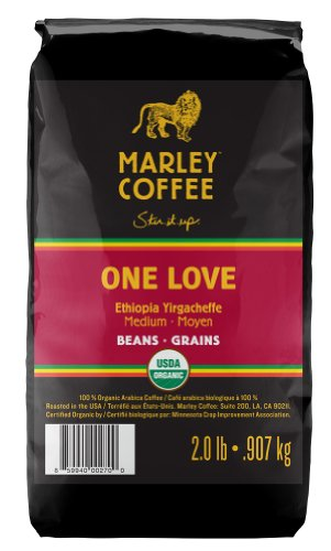 Marley Coffee, Organic In the main Bean Coffee, One Love, 2 Pound