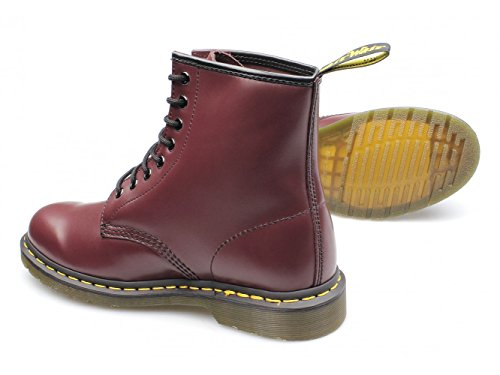 Red Adult Dr 4 Boots Smooth Cherry 8 Classic Eyelet Martens Airwair UK 1460z pxqCZBw