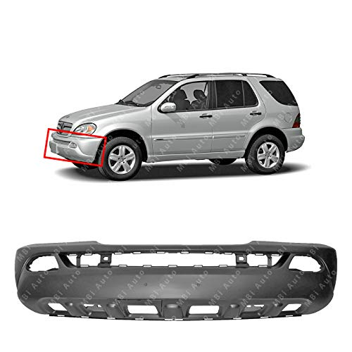 MBI AUTO - Primered, Front Bumper Cover Fascia for 2002-2005 Mercedes Benz ML320 ML350 ML500 02-05, MB1000162
