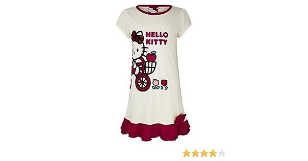 Disney dise/ño de sirena 100/% algod/ón dise/ño de Minnie Mouse 3 a 9 a/ños Conjunto de camiseta y pantalones cortos de manga corta para ni/ña