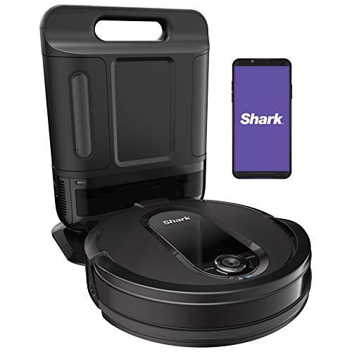 Shark IQ Robot Vacuum AV1010AE with XL Self-Empty Base, Multi-Surface Brushroll, Advanced Navigation, Wi-Fi, Works with Alexa, 2nd Generation
