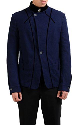 Haider Ackermann Men's 100% Wool Blue Blazer Sport for sale  Delivered anywhere in USA