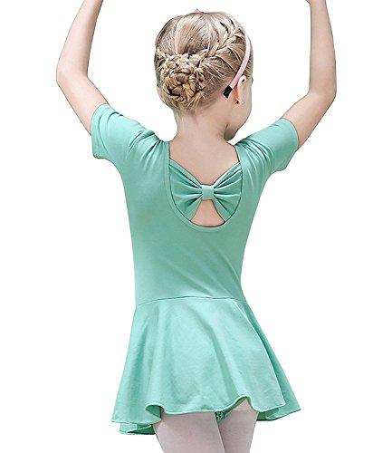Ballerina Dress Costume Tights Clothing for Girls Tutu Leotard Ballet Child 4T 3T Dance Toddler Girl Gymnastics Dress Size 4 US-S -
