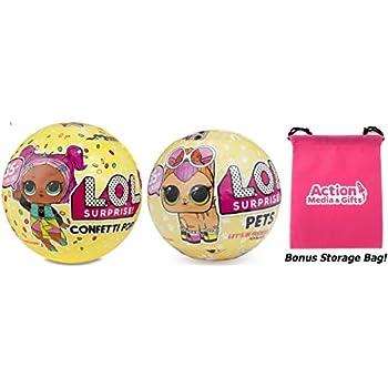 Lol Surprise Dolls Gift Bundle Includes 1 L O L Confetti Pop Wave