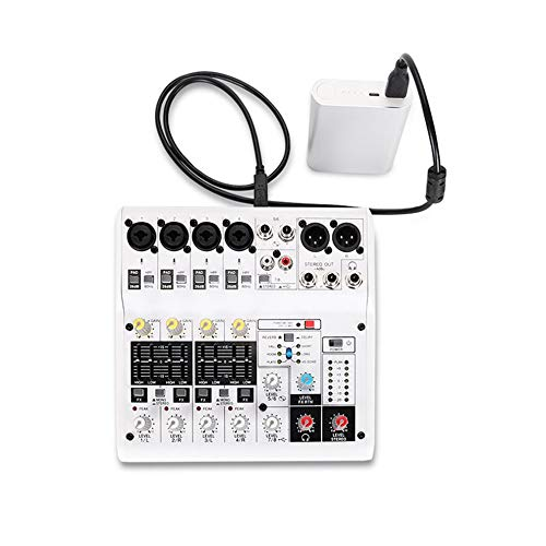 8-Channel Sound voitured Digital Audio Mixer Console with Adapter USB Cables