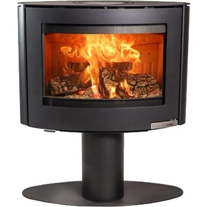 Aduro 15.4 - Estufa de leña (6,5 kW), color negro
