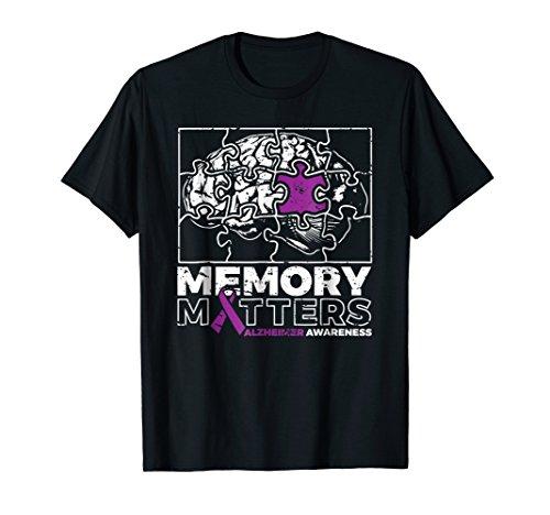 Memory Matters Alzheimers Awareness Shirt Alzheimers Shirt