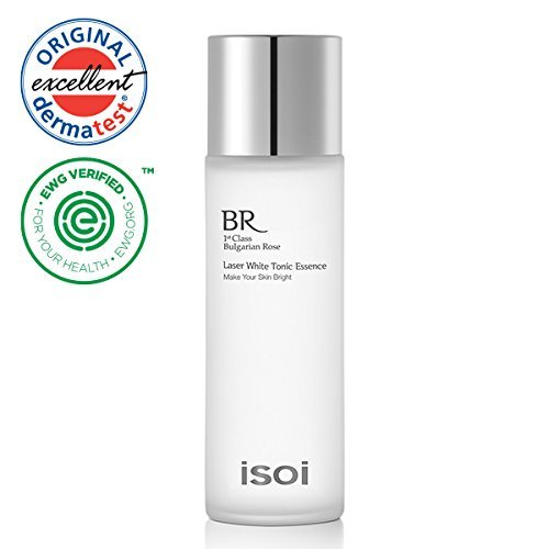Brightening Tonic - isoi Laser White Tonic Essence 130ml - brightening toner, prevent dark spots, for bright and clear skin