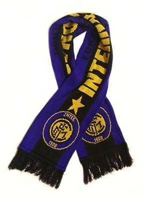 Inter Milan | Premium Soccer Fan Scarf | Ships from USA | Acrylic Knit Scarf