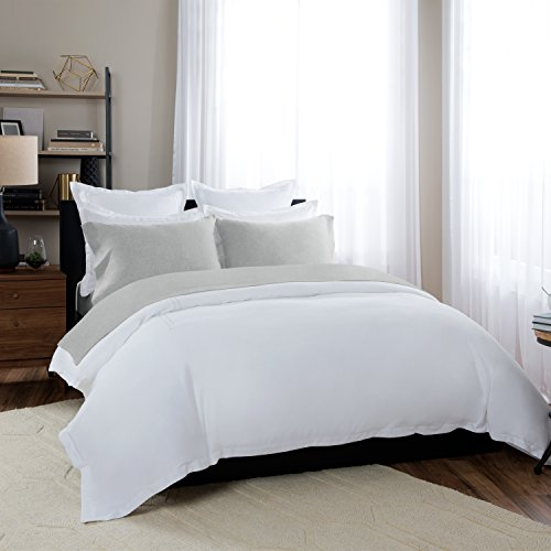 Briarwood Home 150 GSM Heathered Jersey Deep Pocket Bed Sheet Set, 100% Extra Soft Yarn Dyed Cotton Bed Sheets (Queen, - At Briarwood Stores