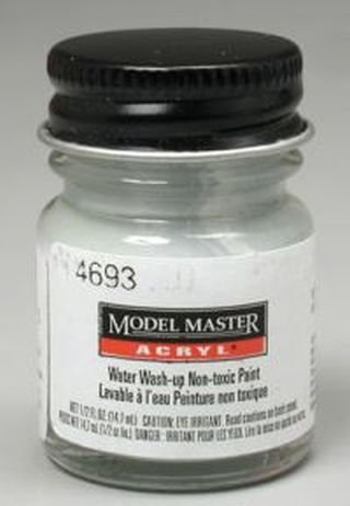 Paint Model Aircraft (Aircraft Gray Testors Acrylic Plastic Model Paint)