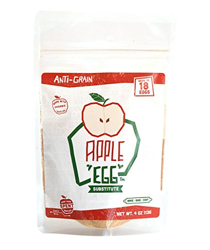 Apple Egg Substitute: Made from Spent Apples (4oz Equivalent to 18 (Egg Replacement)