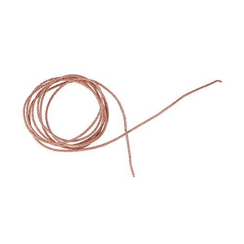 Richer-R Cable para Altavoces (Cobre Puro,Calibre 8,1m/2m) para Altavoces DE 5~8 Pulgadas(1m)