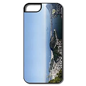 IPhone 5S Case, Rio De Janeiro Panorama White/black Case For IPhone 5 5S by runtopwell