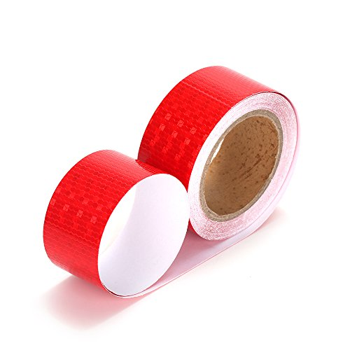 Red Reflective Tape X10 Conspicuity