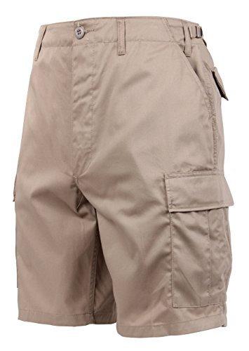 Rothco P/C BDU Shorts, Khaki, 4XL
