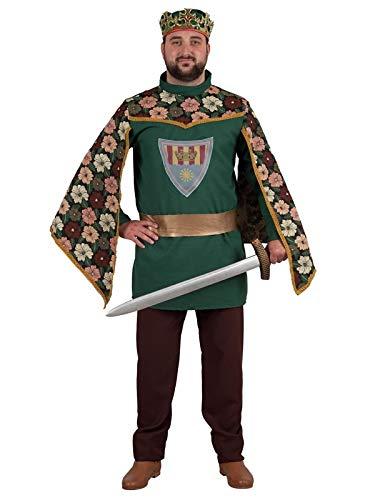 DISBACANAL Disfraz de Principe Medieval para Hombre - Único, XL ...