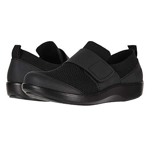 Black Womens Smart Shoe - TRAQ by Alegria Qwik Womens Smart Walking Shoe Black Out 36 EU