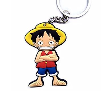 Luffy - One Piece: Llavero PVC alta calidad: Amazon.es ...