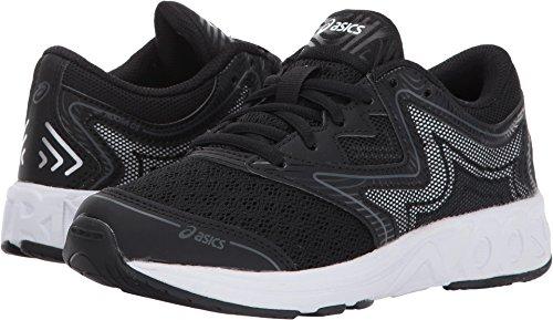 ASICS Unisex-Kids Noosa GS Running Shoe, Black/Carbon/Mid Grey, 2 Medium US Big Kid