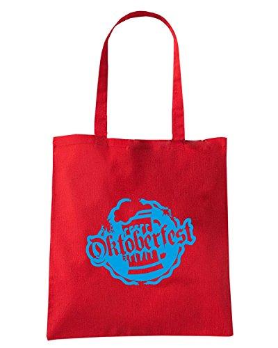 T-Shirtshock - Bolsa para la compra BEER0004 Rojo