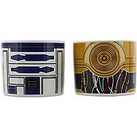 Star Wars 599386031–Set Coupe œuf R2D2et C3PO
