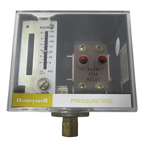 Honeywell L4079A1050 Pressuretrol Limit Controller, 10-150 psi