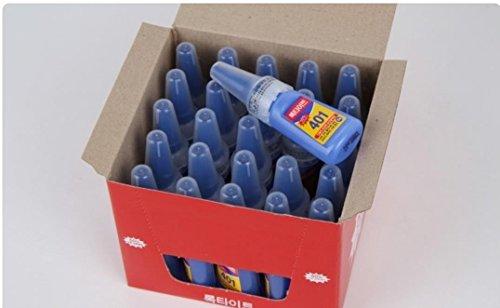25 X Loctite 401 20g Instant Adhesive Stronger Super Glue Multi-purpose by Loctite (Image #2)