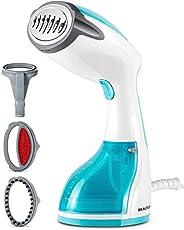 BEAUTURAL 1200-Watt Handheld Steamer for Clothes,30 Second Heat-up,8.79 Fluid Ounce Water Tank