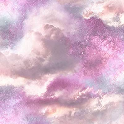 Diamond Galaxy Wallpaper Purple Blush Glitter Sparkly Textured