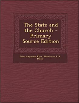 Book The State and the Church - Primary Source Edition