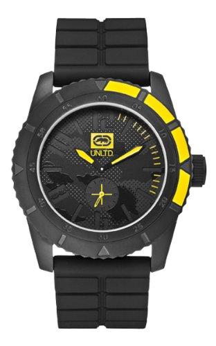 Marc Ecko Reloj Análogo clásico para Unisex de Cuarzo con Correa en Silicona E13541G1: Marc Ecko: Amazon.es: Relojes