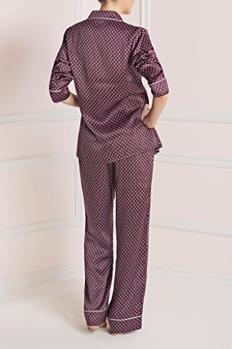 Cherry Olivia Von Halle Silk Pyjama