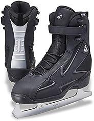 Jackson Ultima Softec Elite ST7002 Black Mens Ice Skates with Mark II Blades