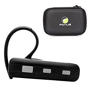 Wireless Bluetooth Headset Mono / Stereo Earphone + Carrying Case for Samsung Galaxy S 3 GT-i9300, Galaxy Stratosphere II SCH-I415, Galaxy Note 3 (SM-N900A)