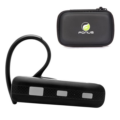 Wireless Bluetooth Headset Mono / Stereo Earphone + Carrying Case for LG Quantum, Envoy 2, Rumor Reflex, 440G