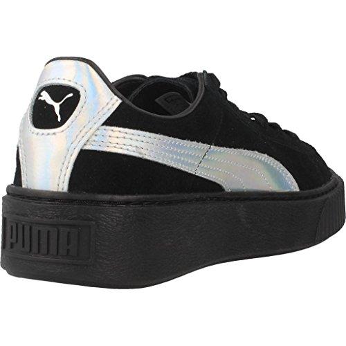 Nero Nero Basket Puma Donna Platform Explosive Sneaker Argento BRpx8q1w