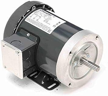 3/4 hp 1800 RPM 3-Phase 56C Frame TEFC (base) 575V Marathon Motor # K707 - Electric  Motors - Amazon.com