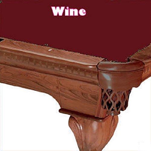 - 8' Oversized Simonis 760 Wine Billiard Pool Table Cloth Felt