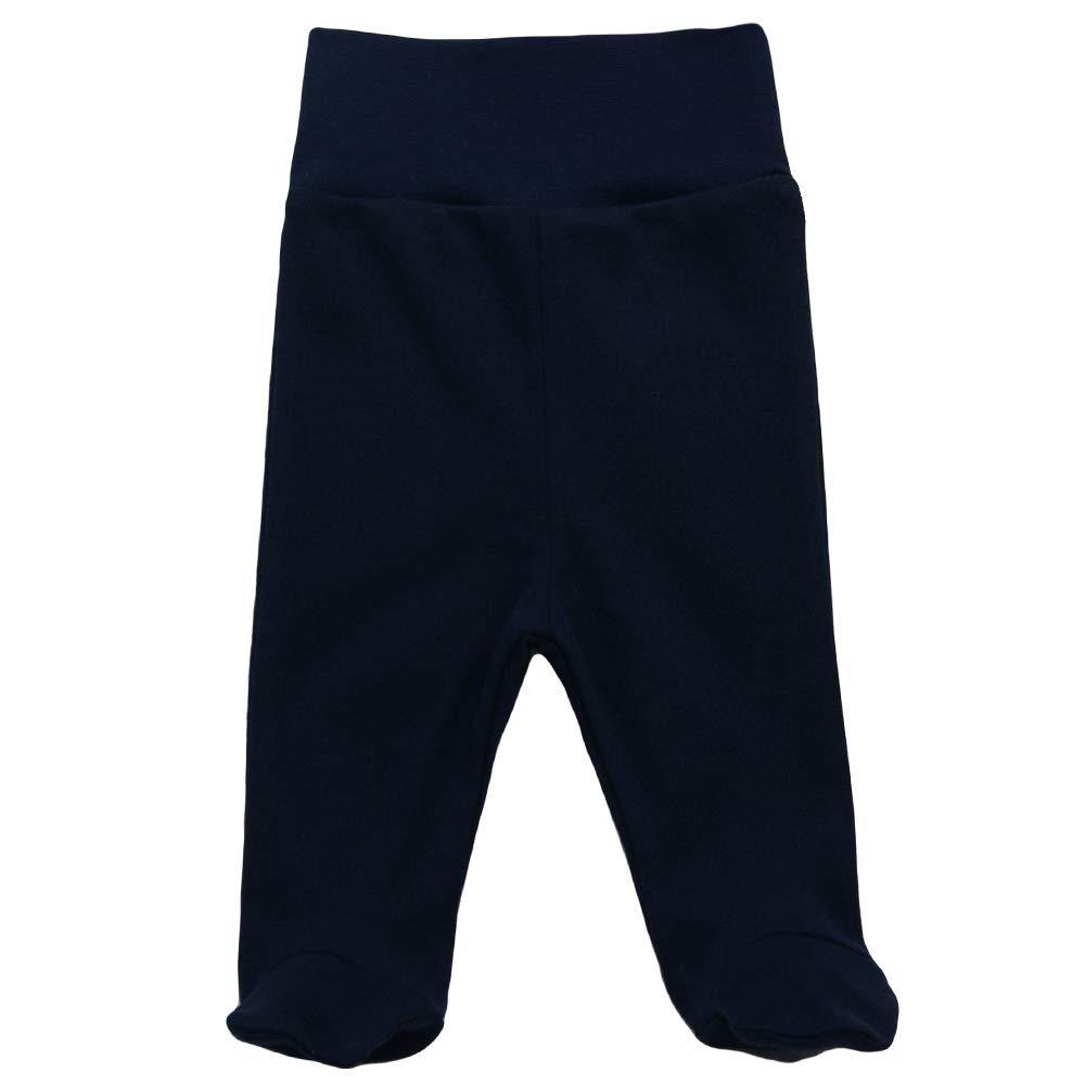 1366572bf7 MEA BABY Unisex Baby Hose mit Fuß Baby Strampelhose mit Fuß 5er Pack ...