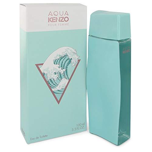 Aqua Kĕnżo by Kĕnżo Eau De Toilette Spray for Women 3.3 FL. OZ./100 ML