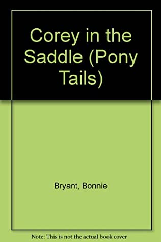 book cover of Corey in the Saddle