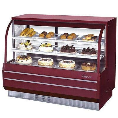 (Turbo Air TCGB-60-R-N Curved Glass Bakery Case)