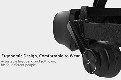 3Glasses Blubur S1 PC Virtual Reality System - 2880x1440 120Hz DisplayPort VR Headset by 3Glasses (Image #4)