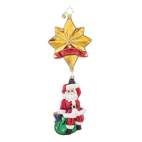 Christopher Radko Royal Star Santa 30th Anniversary Christmas Ornament by Christopher Radko