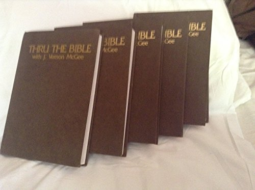 Thru the Bible 5-Volume Commentary Set with Index (Thru the Bible, Vol 1 - 5 + Index (6 vol total))
