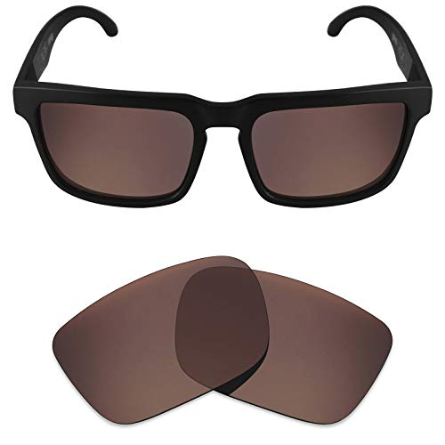 Replacement Helm Parts - Mryok Polarized Replacement Lenses for Spy Optic Helm - Bronze Brown