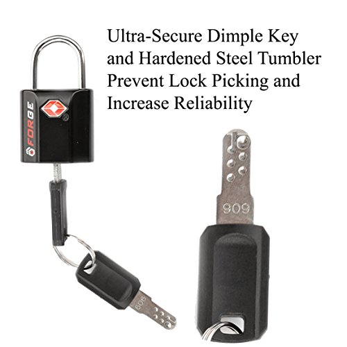 black 2 pack tsa approved travel luggage locks. Black Bedroom Furniture Sets. Home Design Ideas