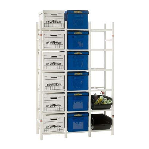 Bin Warehouse Storage Systems DFAE2MBFBW0618 Box Storage System by Bin Warehouse Storage Systems